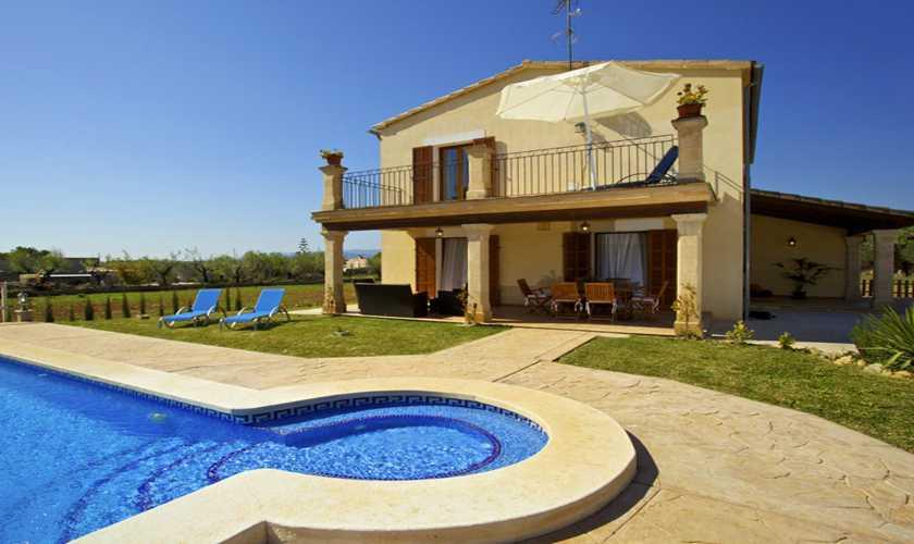 Pool und Finca Mallorca 8 Personen PM 3035
