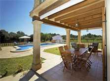 Terrasse Finca Mallorca 8 Personen PM 3035