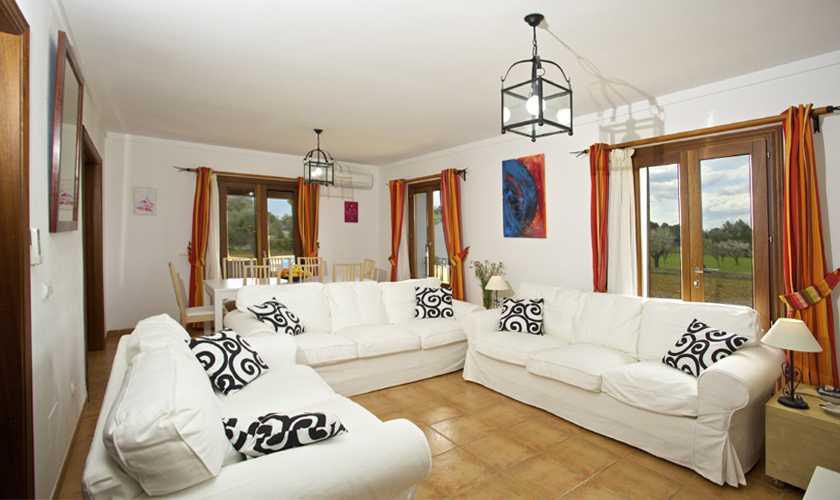 Wohnraum Finca Mallorca 8 Personen PM 3035
