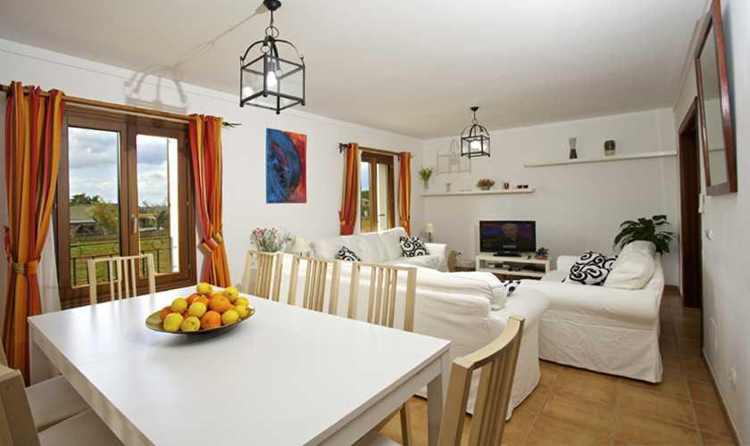 Wohnraum Ferienhaus Mallorca 8 Personen PM 3035