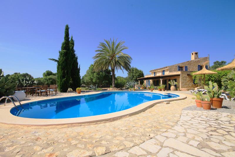 Blick auf die Finca Mallorca PM 303