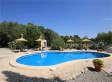 Poolblick Ferienhaus Mallorca PM 303