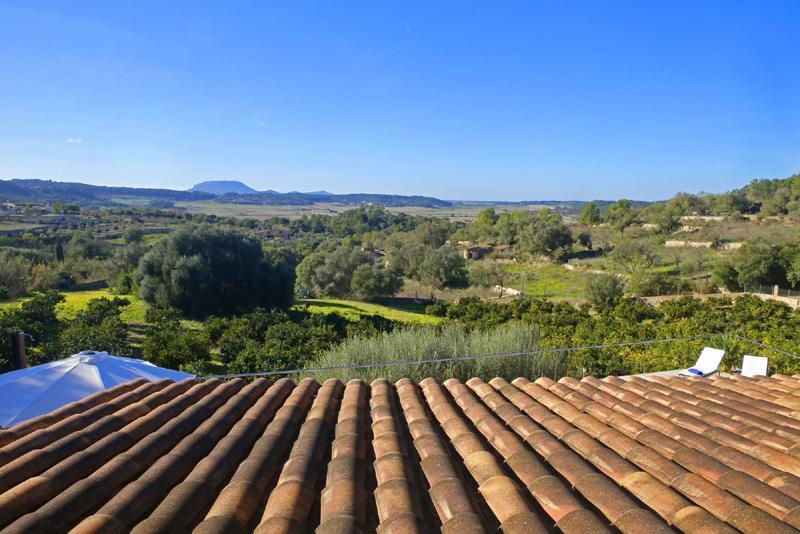 Blick in die Landschaft Ferienfinca mit Pool PM 3062 für 8 Personen