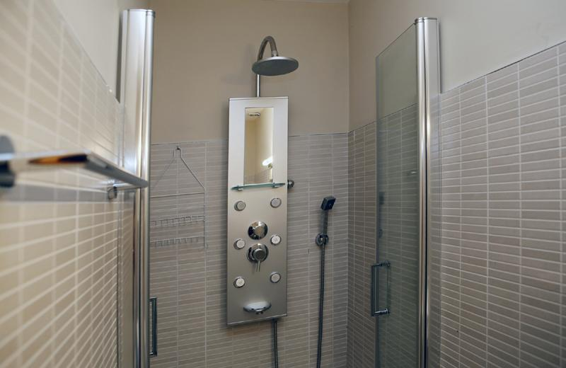 Dusche  Finca Mallorca mit Pool PM 3062 für 8 Personen