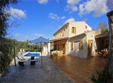 Blick auf die Finca PM 3062 Mallorca Sant Joan