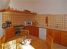 Küche der Finca Mallorca mit Pool PM 3062 für 8 Personen