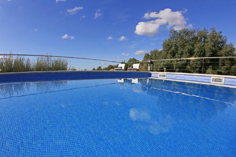 Poolblick 2 Finca Mallorca mit Pool PM 3062 für 8 Personen