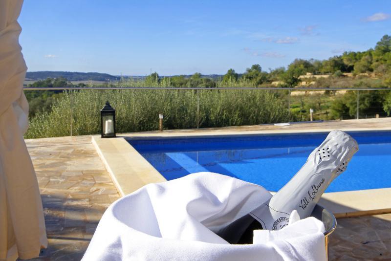 Pool der Ferienfinca bei Sant Joan PM 3062 für 8 Personen