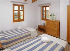 Schlafzimmer  3 Finca Mallorca mit Pool PM 3062 für 8 Personen