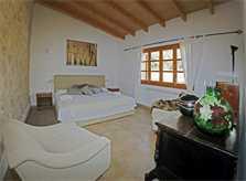 Schlafzimmer Suite  Finca Mallorca mit Pool PM 3062 für 8 Personen