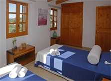 Schlafzimmer 2b  Finca Mallorca mit Pool PM 3062 für 8 Personen