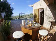 Terrasse  Finca Mallorca mit Pool PM 3062 für 8 Personen