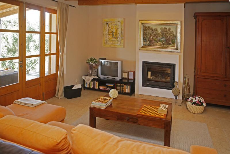 Wohnraum 2 der Ferienfinca mit Pool PM 3062 für 8 Personen