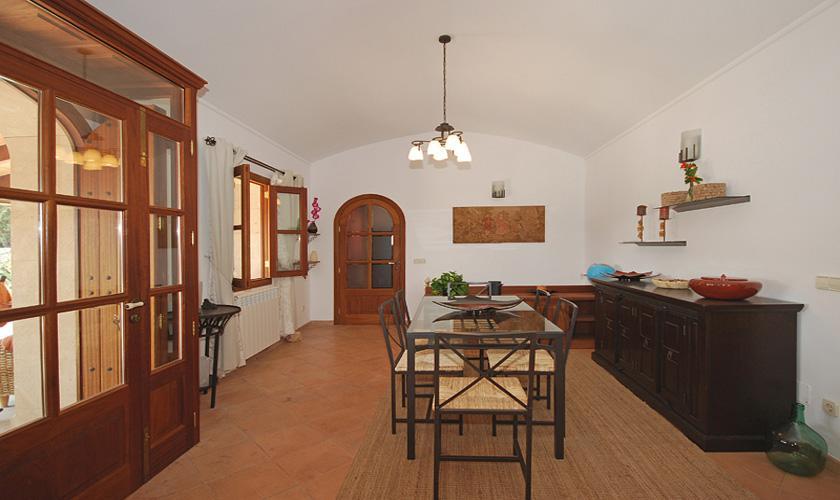 Essplatz Finca Mallorca für 16 Personen PM 3065