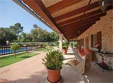 Terrasse Finca Mallorca für 16 Personen PM 3065