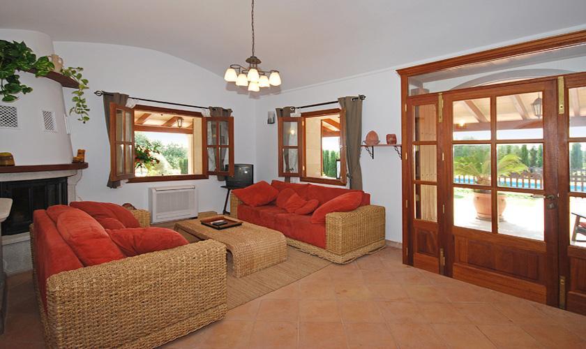 Wohnraum Finca Mallorca für 16 Personen PM 3065