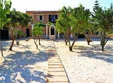 Blick auf die Finca Mallorca PM 3066