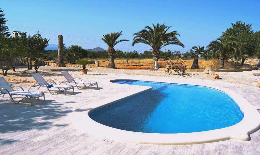 Poolblick Finca Mallorca PM 3066