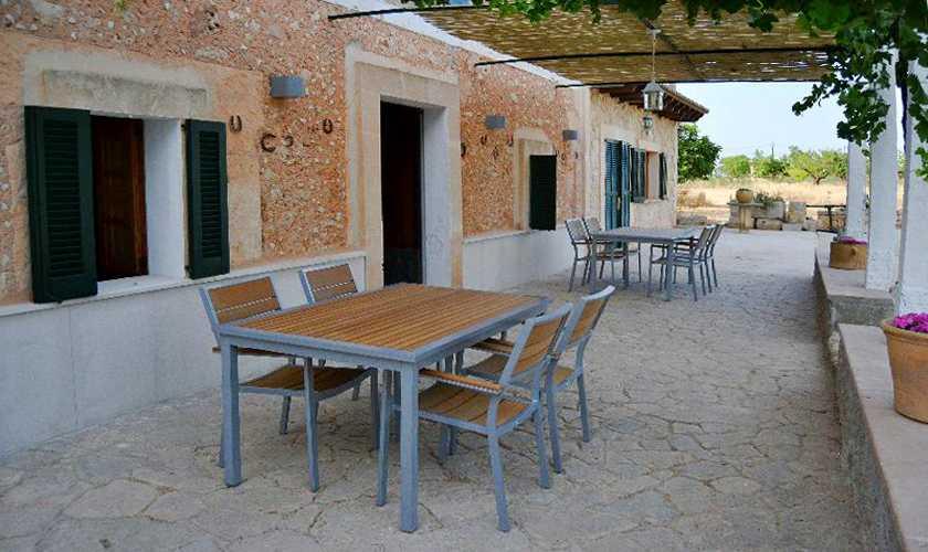 Terrasse Finca Mallorca PM 3066