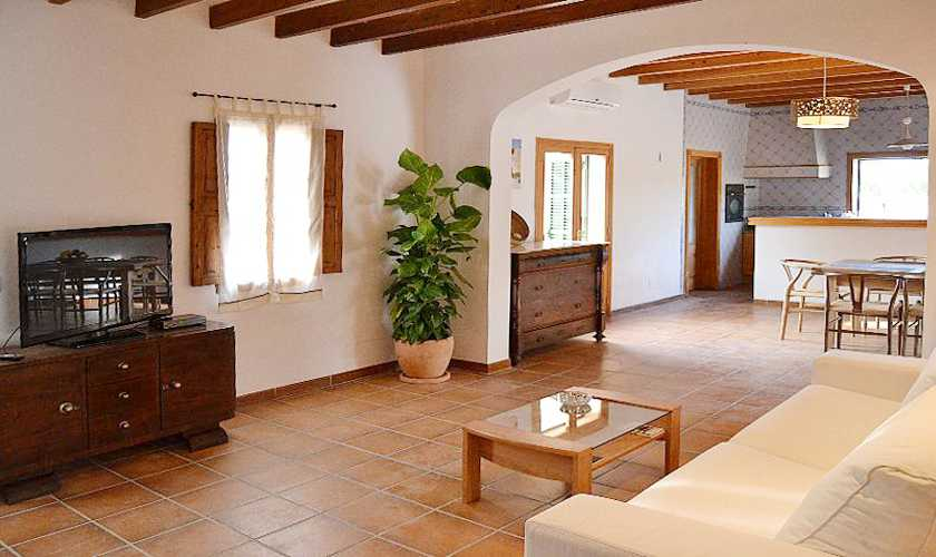 Wohnraum Finca Mallorca PM 3066