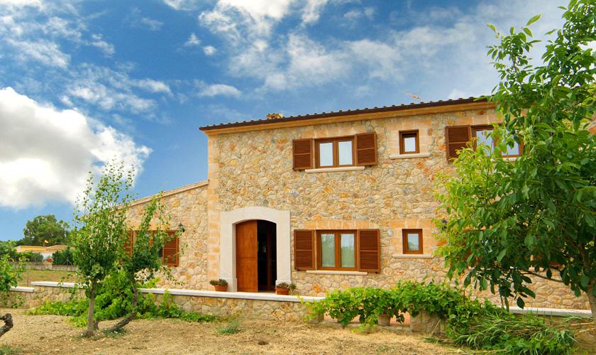 Blick auf die Finca Mallorca PM 3067