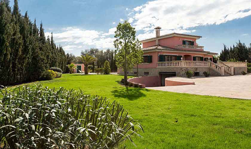 Blick auf die Ferienvilla Mallorca PM 3068