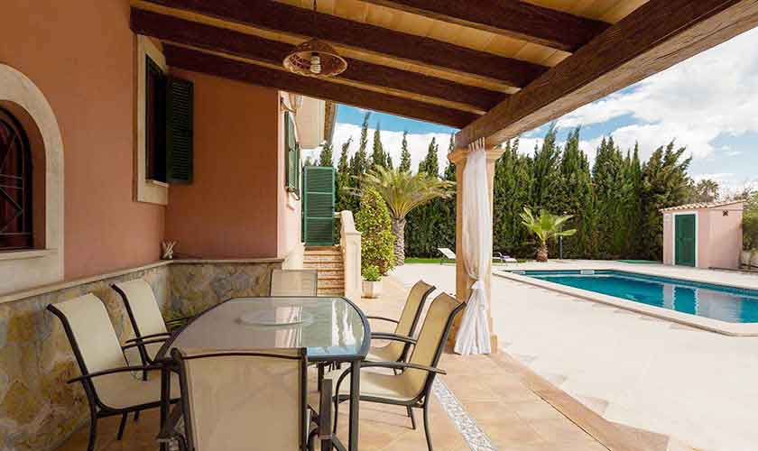 Terrasse Ferienvilla Mallorca PM 3068