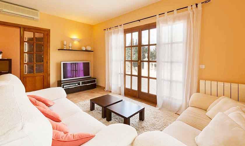 Wohnraum Ferienvilla Mallorca PM 3068