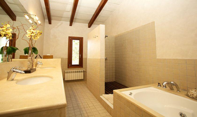 Badezimmer Ferienvilla Mallorca PM 3015