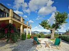 Blick in die Landschaft Ferienvilla Mallorca PM 3015