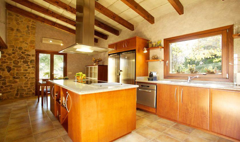 Küche Ferienvilla Mallorca PM 3015