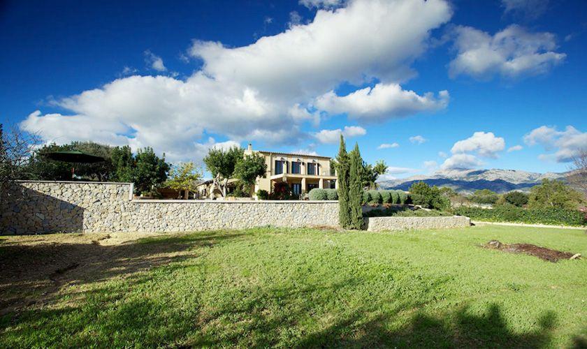 Blick auf die Ferienvilla Mallorca PM 3015