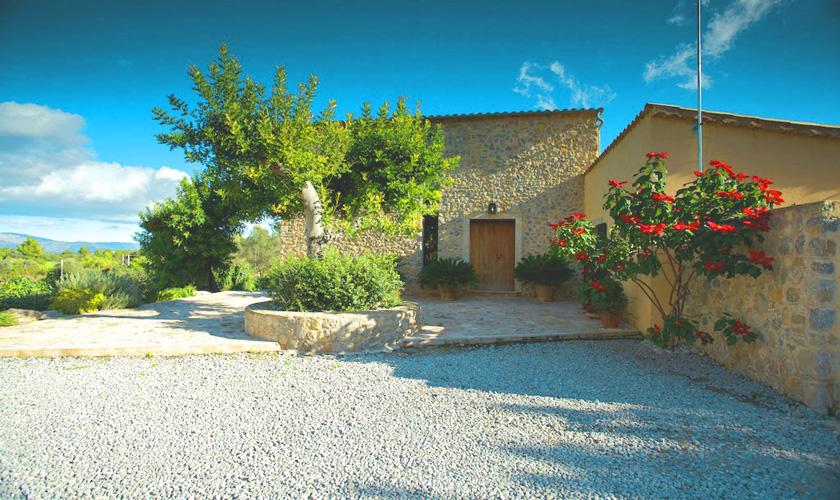 Blick auf die Ferienfinca Mallorca PM 3015