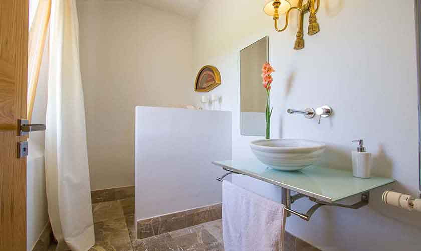 Bad en suite Ferienfinca Mallorca PM 3115