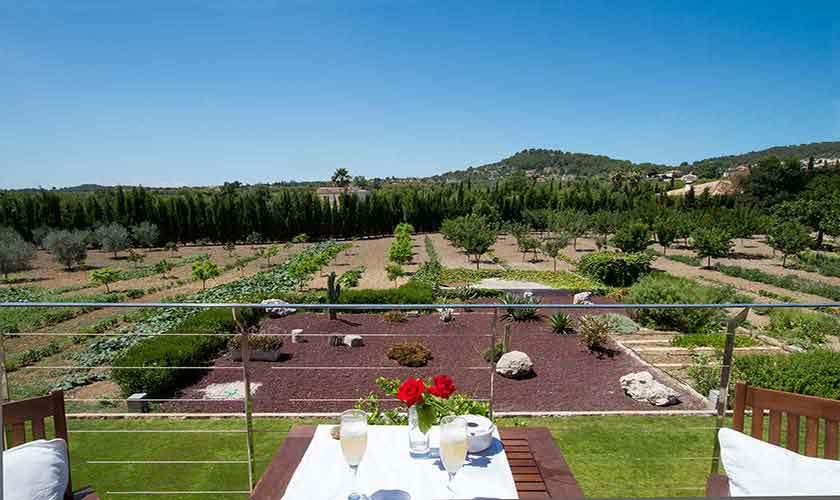 Blick von der Ferienfinca Mallorca PM 3115