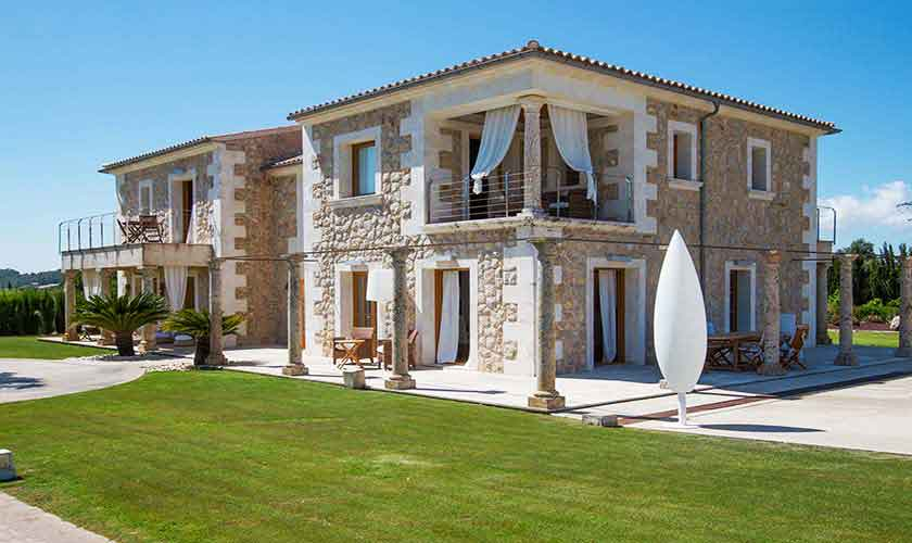 Blick auf die Ferienvilla Mallorca PM 3115