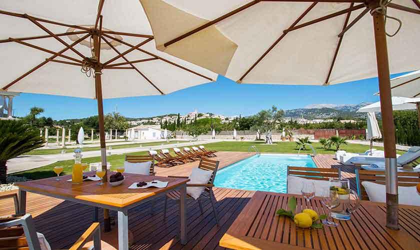 Terrasse Ferienvilla Mallorca PM 3115