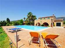Pool und Finca Mallorca bei Selva PM 312