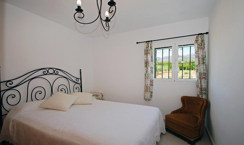 Schlafzimmer Finca Mallorca bei Selva PM 312