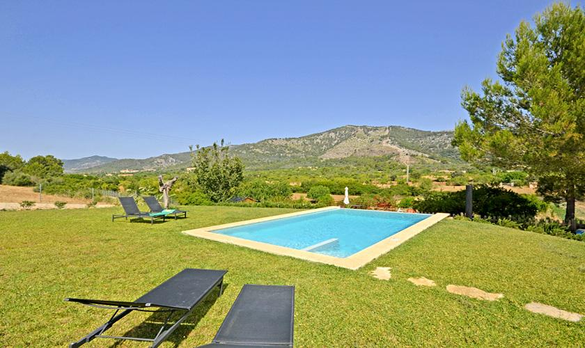 Pool Ferienfinca Mallorca für 4 Personen PM 3131