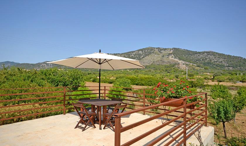Terrasse Finca Mallorca für 4 Personen PM 3131