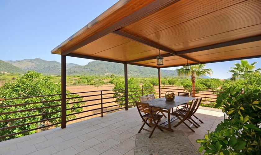 Überdachte Terrasse Finca Mallorca für 4 Personen PM 3131