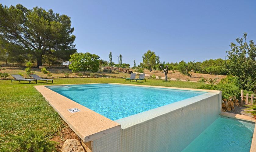 Poolblick Ferienhaus Mallorca für 4 Personen PM 3131