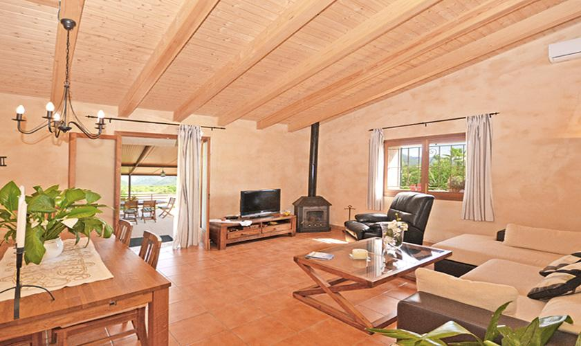 Wohnraum Finca Mallorca für 4 Personen PM 3131