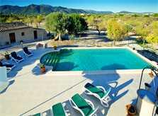Pool der Ferienvilla Mallorca für 10 Personen PM 3132