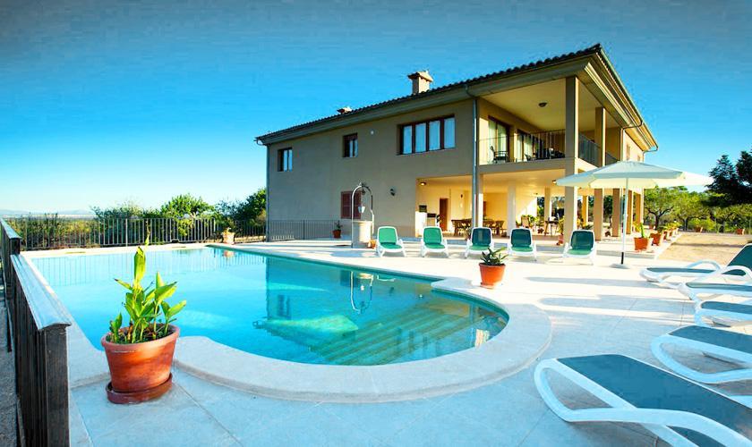 Pool und Ferienvilla Mallorca für 10 Personen PM 3132