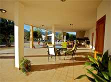 Terrasse Ferienvilla Mallorca für 10 Personen PM 3132