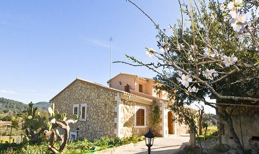 Blick auf die Finca Mallorca Norden PM 316
