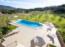 Poolblick Finca Mallorca für 10 Personen PM 316
