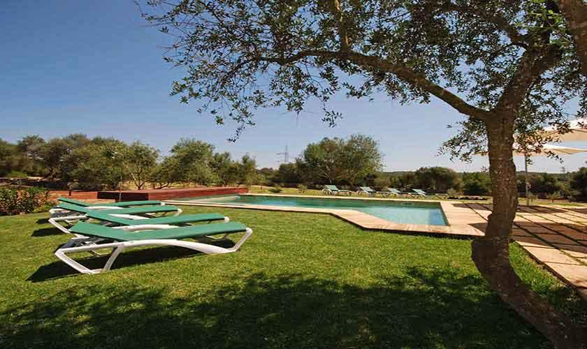 Garten Finca Mallorca 8 Personen PM 317